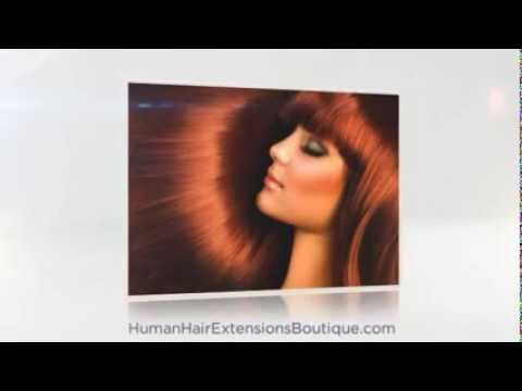 Human Hair Extentions & Human Hair Extensions Reviews | Human Hair Extensions Boutique - YouTube