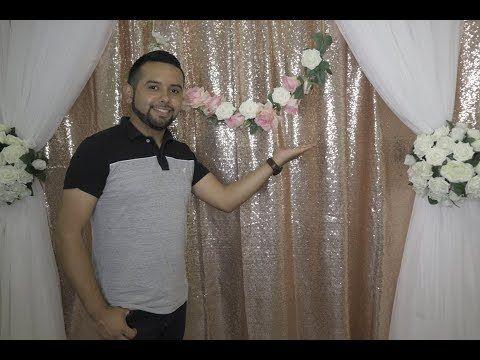 Hermoso Backdrop Cv Linens Rose Gold Linen Innova Creations