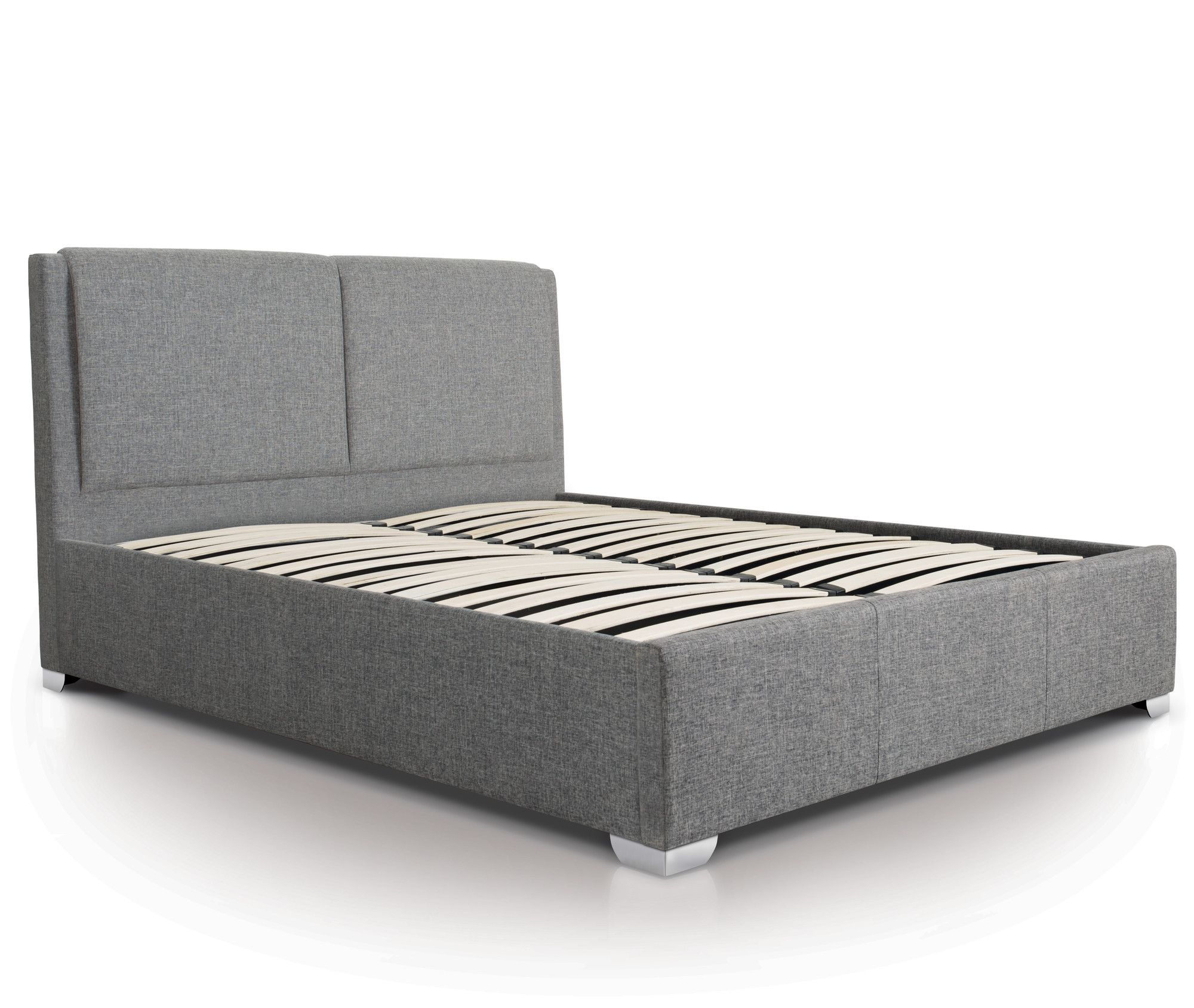 Tremendous Upholstered Ottoman Bed Frame Furniture Makeover In 2019 Creativecarmelina Interior Chair Design Creativecarmelinacom