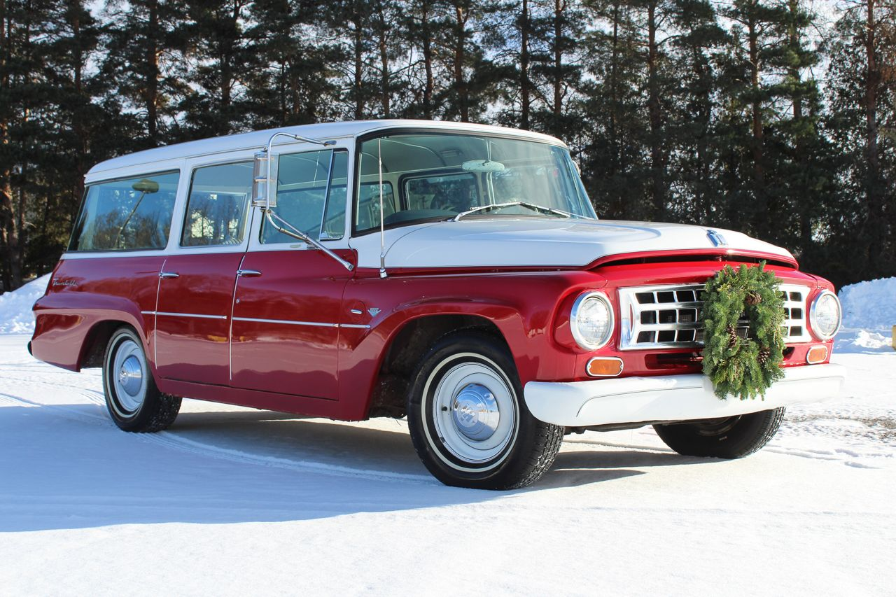 Look at this beautiful 1963 International Harvester Travelall on ...