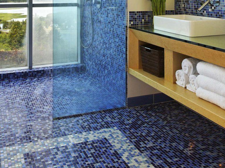 Penny Floor Pros Cons Homipet Mosaic Floor Bathroom Mosaic Flooring Glass Floor