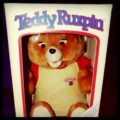 Teddy Ruxpin!!!! 80s ....first animated toys.