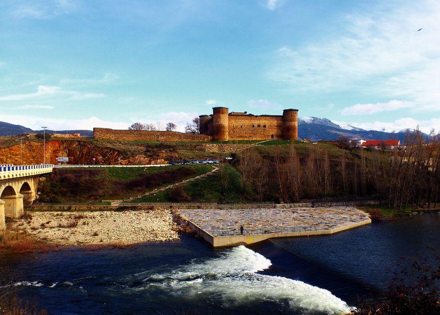 Castillo de Valdecorneja, El Barco de Avila, Avila, Castilla y León, España