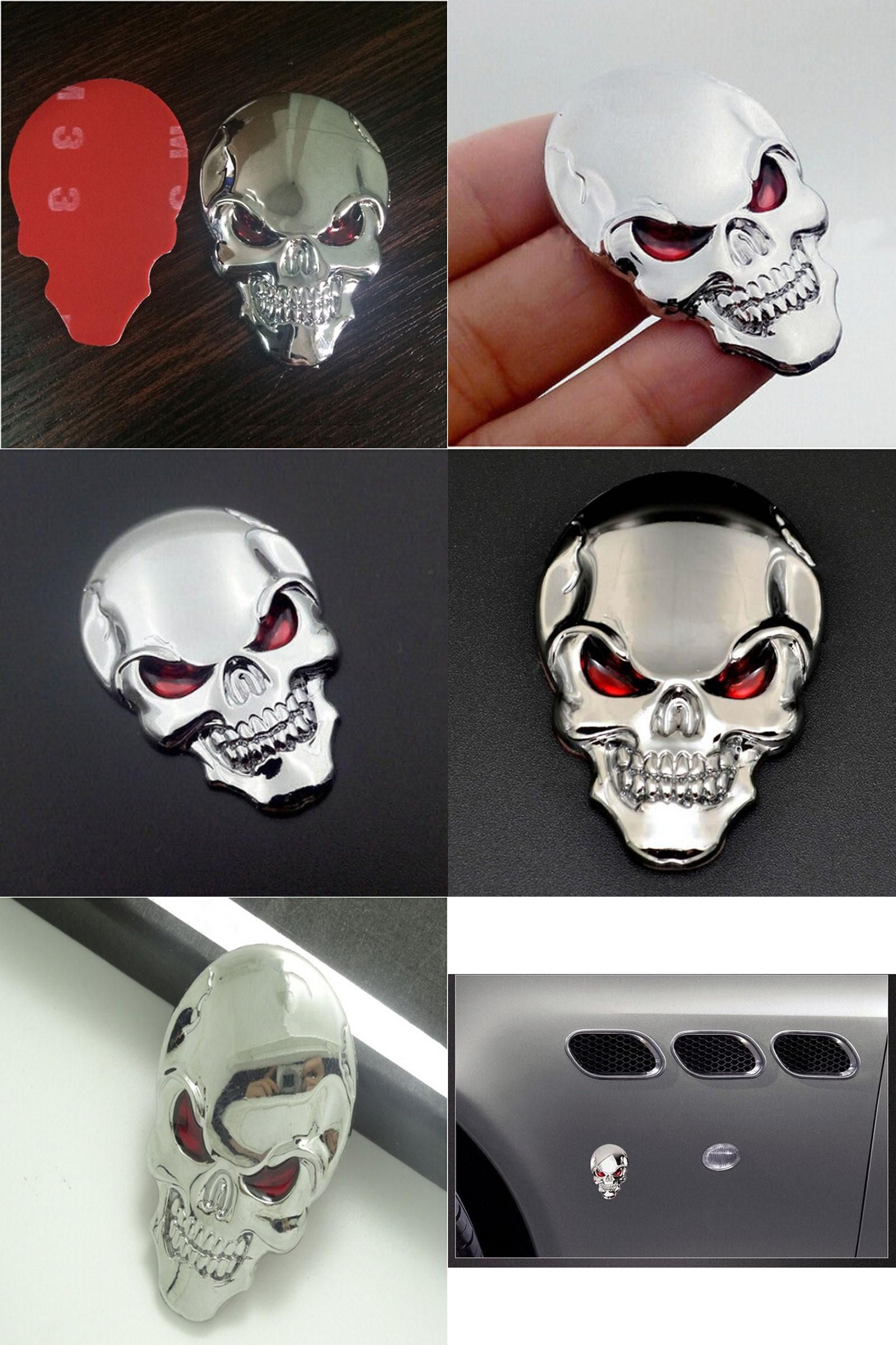 Visit To Buy Hot Sale Auto Car Motorcycle Skull Bone Sticker - Motorcycle helmet decals graphicsreflectivedecalscomour decal kit on the bmw systemhelmet