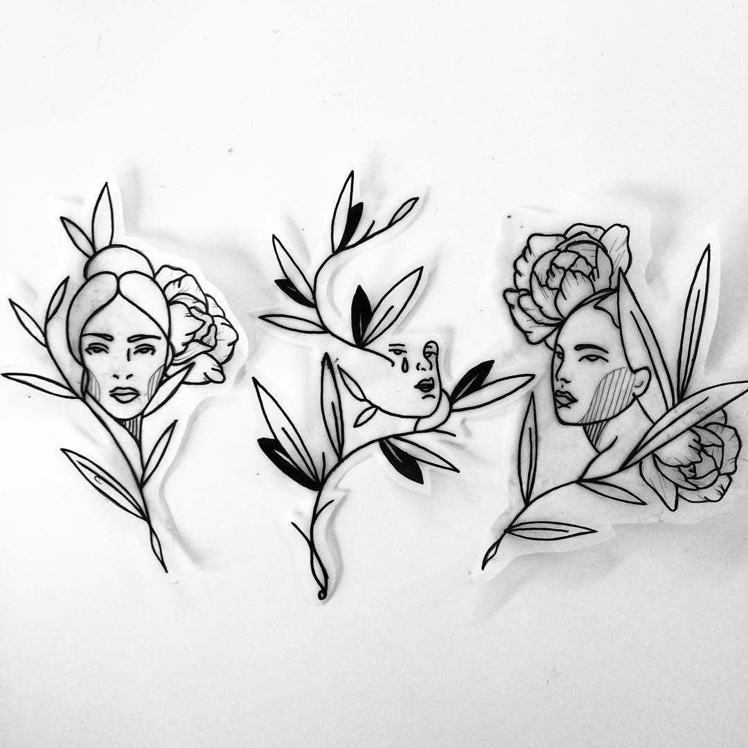 Wanna Do Bold Linework Tattoo Ink Flowers Flowertattoo Rose Rosetattoo Black Tattoos Abstract Tattoo Ink Tattoo