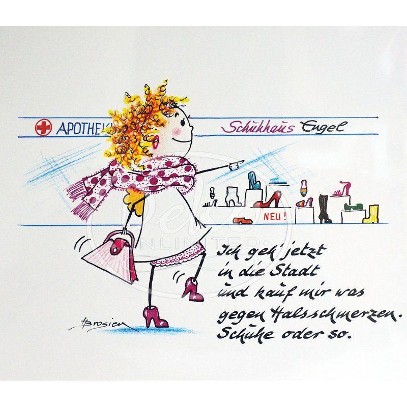 Heidemarie Brosien - Passepartout-Bild - HALSWEH - Deko Unlimited - Exklusive Geschenke & Dekoration, 12,95 €