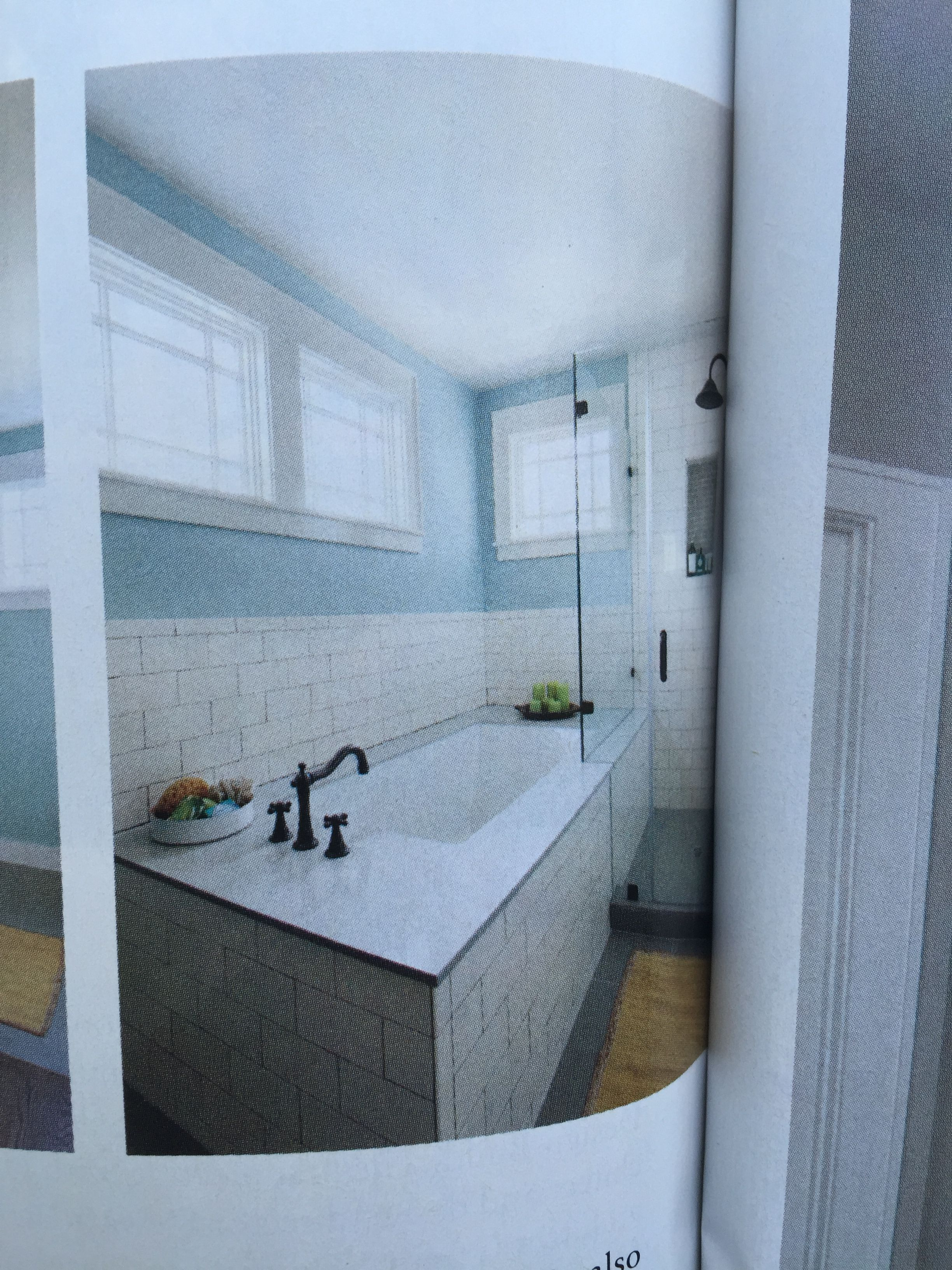 Shower Tub Configuration