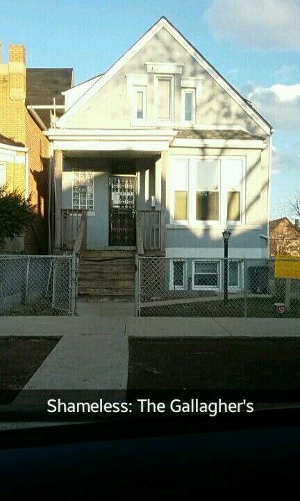 Shameless House In Chicago.