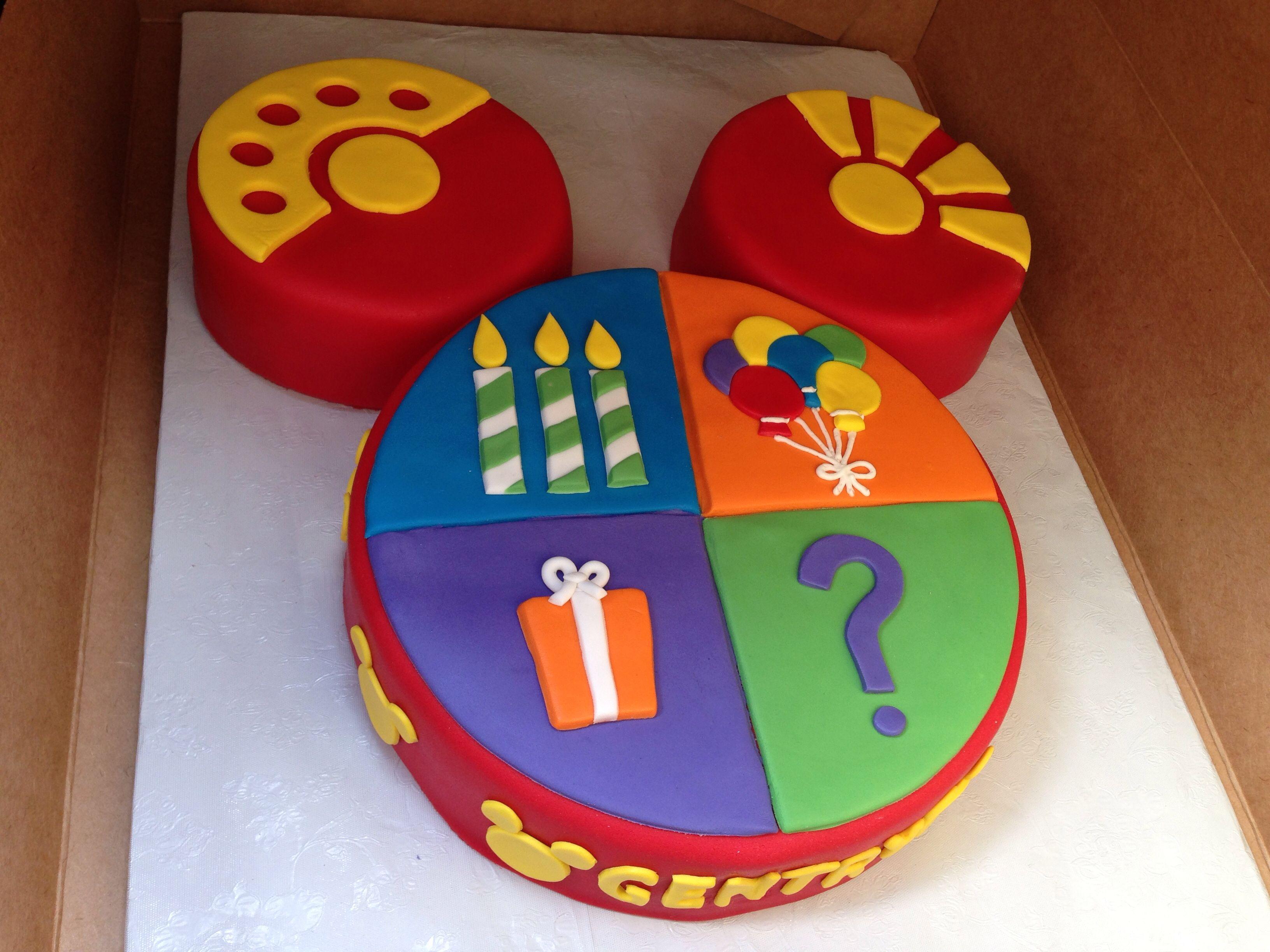 Stupendous Gs 3Rd Birthday Cake Toodles 3Rd Birthday Cakes Mickey Funny Birthday Cards Online Alyptdamsfinfo