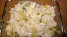 risotto poireaux boursin cookeo – recette maison facile.avec le cookeo.