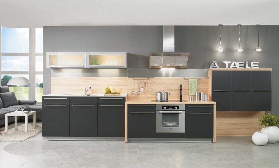 Cocina con accesorios modernos Diseño Exteriores e Interiores