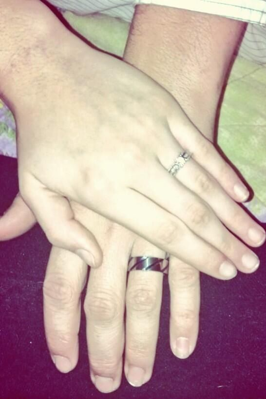 His and her's promise rings❤