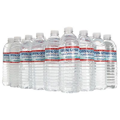 Crystal Geyser 174 Natural Alpine Spring Water 24 Pack At