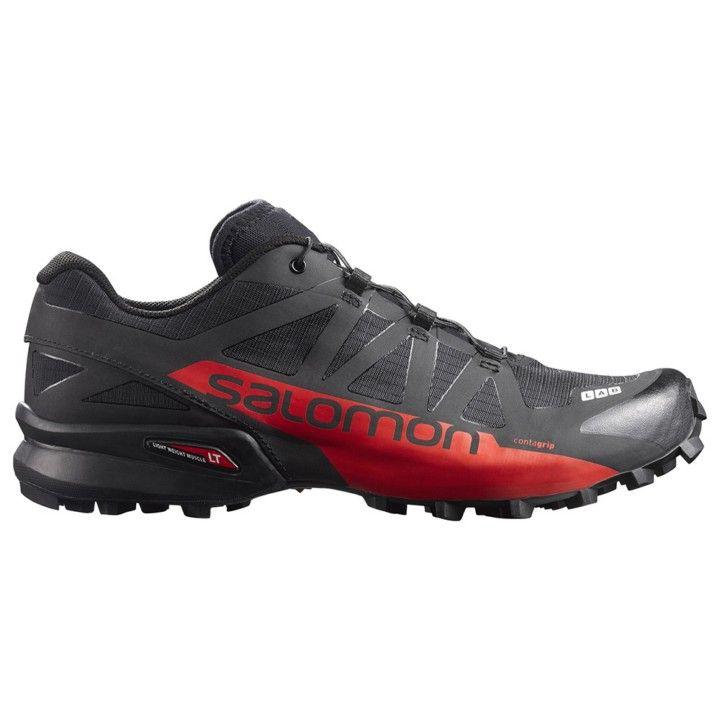 9883edc2a712 Zapatillas trail running de la gama S-Lab de Salomon. La gama más alta