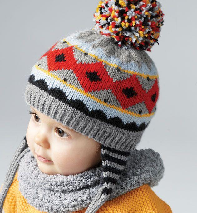Modèle bonnet péruvien bébé - Modèles Layette - Phildar   Breien ... 37065d9ba08