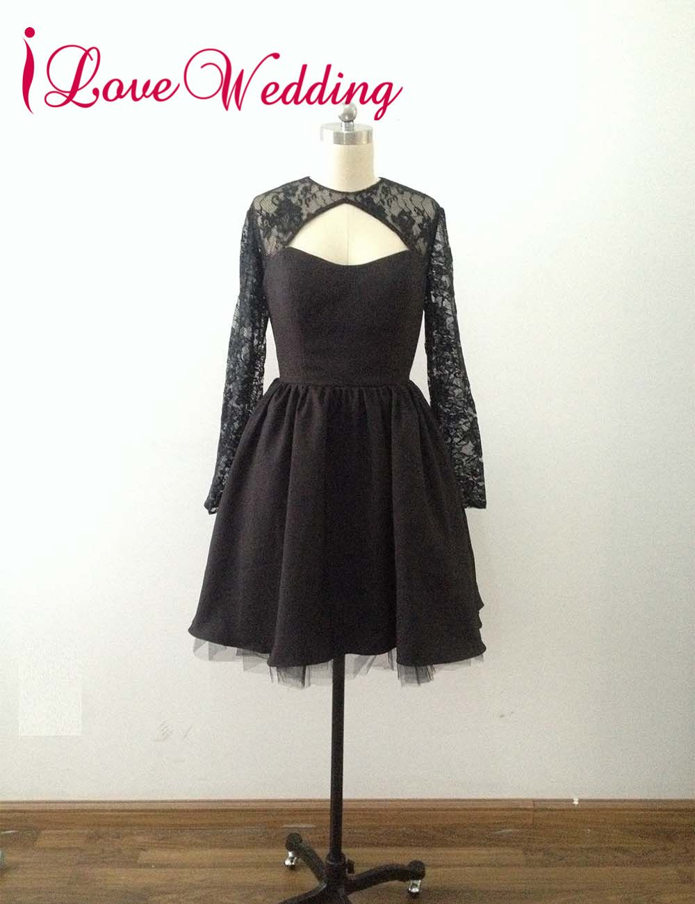 Click to buy ucuc ilovewedding aline prom dresses formal black lace