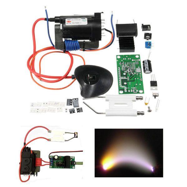 ZVS Tesla coil Booster 20KV High Voltage Generator Plasma Music Arc Speaker Kits