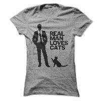 Real Man Loves Cats