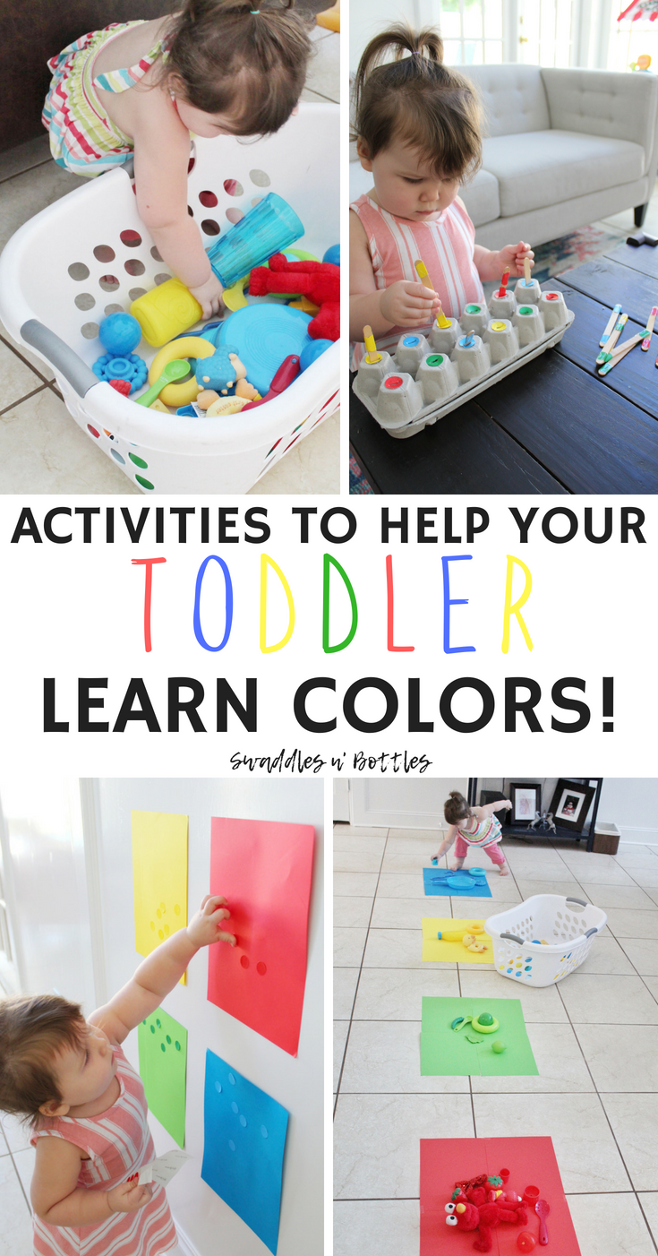 Fun Activities To Help Your Toddler Learn Colors Mom