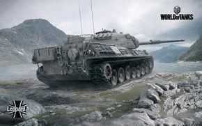 Download imagens World of Tanks, Sei, Leopard Eu, Os tanques alemães
