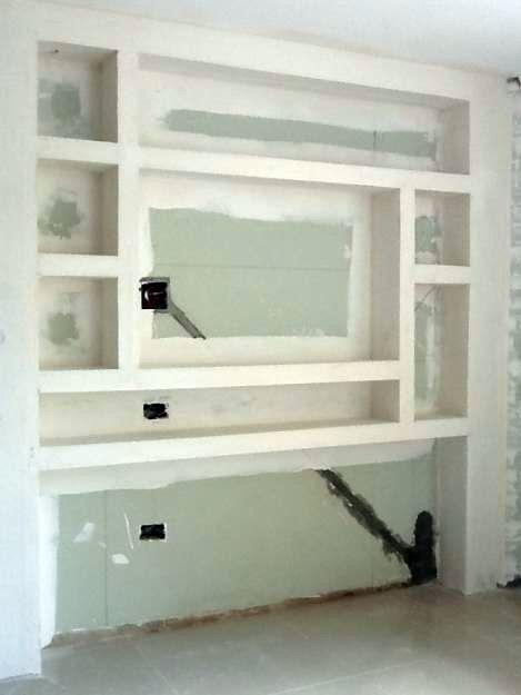 painel de Drywall | Design Decor Idea Home | Pinterest | Drywall, Tv ...