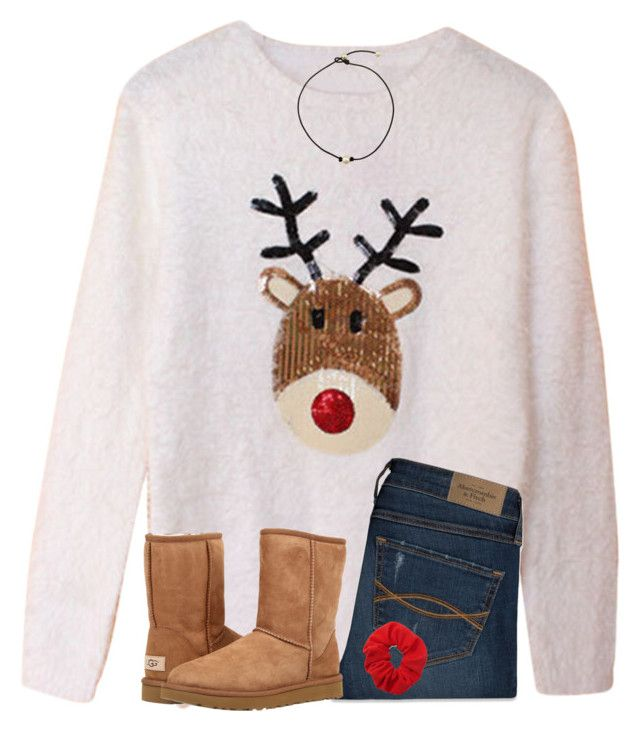 """""""Christmas went by so fast..."""" by ponyboysgirlfriend ❤ liked on Polyvore featuring Abercrombie & Fitch, UGG Australia and Forever 21"""