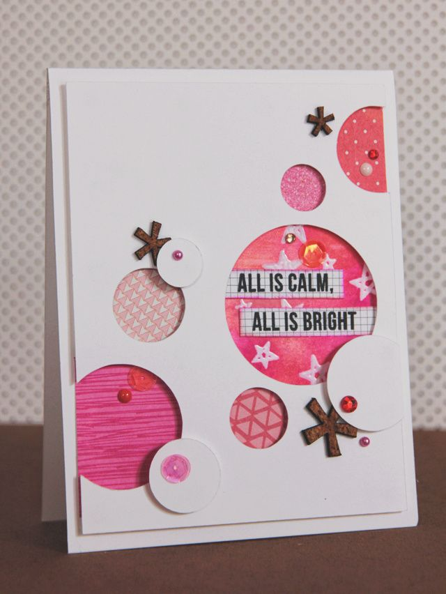 Calm and Bright by dearlydee at @Studio_Calico   Card Ideas ...