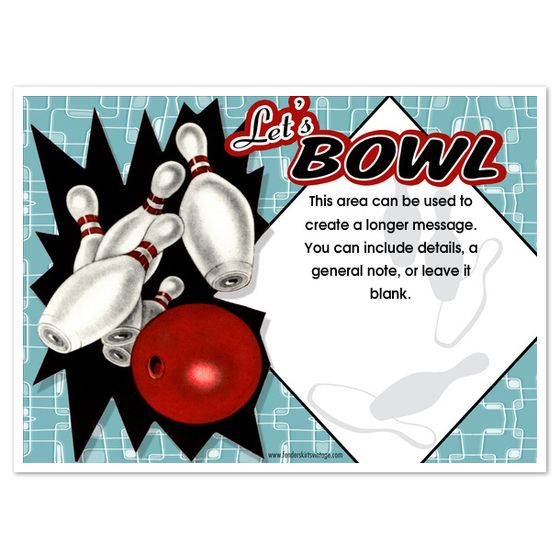 Doc450299 Bowling Flyer Template Free Bowling Night Flyer – Bowling Flyer Template