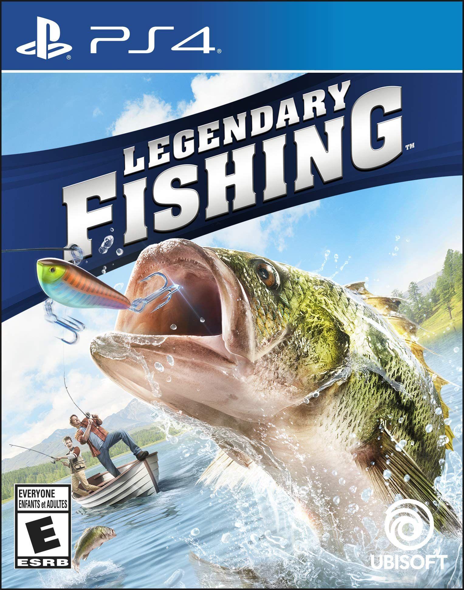 Legendary Fishing Playstation 4 Standard Edition Fishing Legendary Playstation Edition Playstation Fish Playstation 4