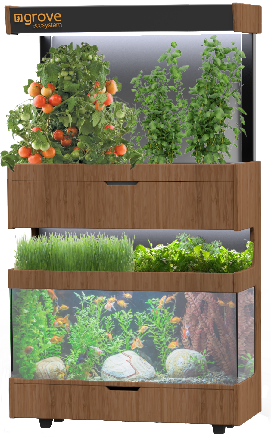 A futuristic 'garden' that lets you grow food in your home ...