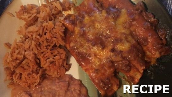 Beef and Cheese Enchiladas Recipe Recipe : Cheese filled tortillas are covered with a spicy meat sauce and cheese before baking. Growing up all my life in South Texas, this dish was a staple!Tex-Mex Beef and Cheese Enchiladas Recipe Recipe : Cheese filled tortillas are covered with a spicy meat sauce and cheese before baking. Growing up all my life in South...