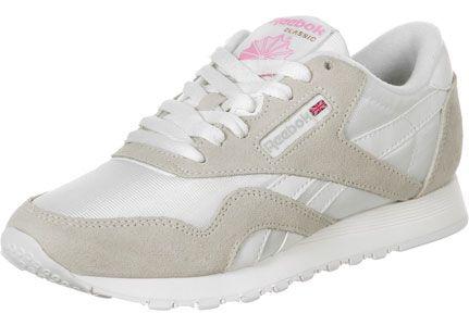 554281fb43722 Reebok classic nylon   Schuhe   Pinterest   Reebok, Beige and Retro