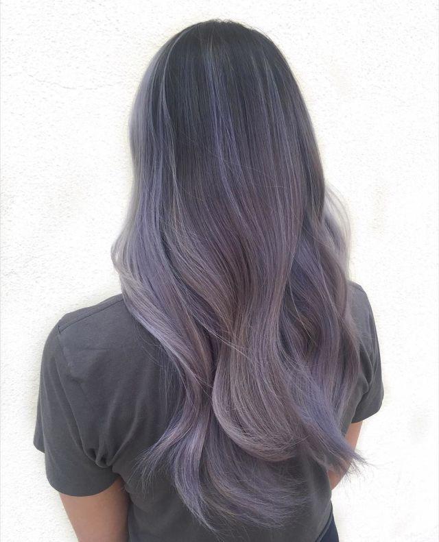 11 Reasons To Dye Your Hair Smokey Lilac Future Hair Ideas