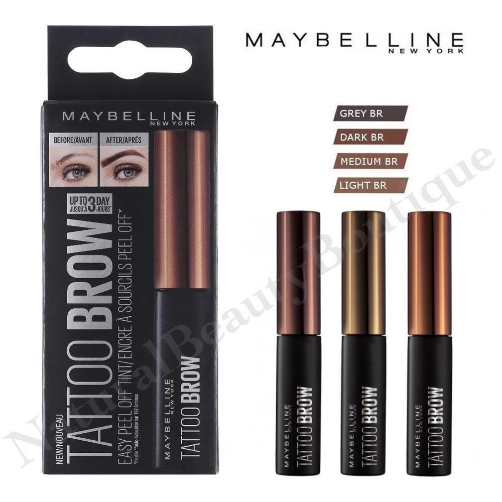 b371d753623 MAYBELLINE TATTOO BROW TINT Semi-Permanent EYEBROW Easy Peel Off Gel MAKEUP  New | Health & Beauty, Make-Up, Eyes | eBay!