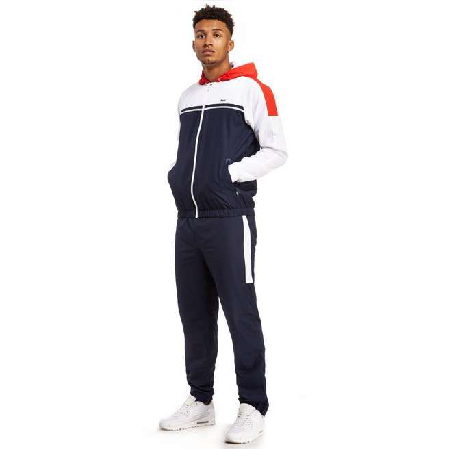 500bad9600 Lacoste Panel Tracksuit. Lacoste Panel Tracksuit Lacoste Tracksuit, Lacoste  Sport, Sport Fashion, Mens Fashion, Jd