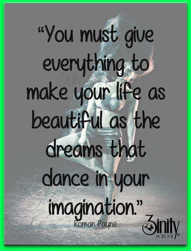 Life is a dance. #3inity #positivevibes #inspirational #wordsofwisdom #dance #life