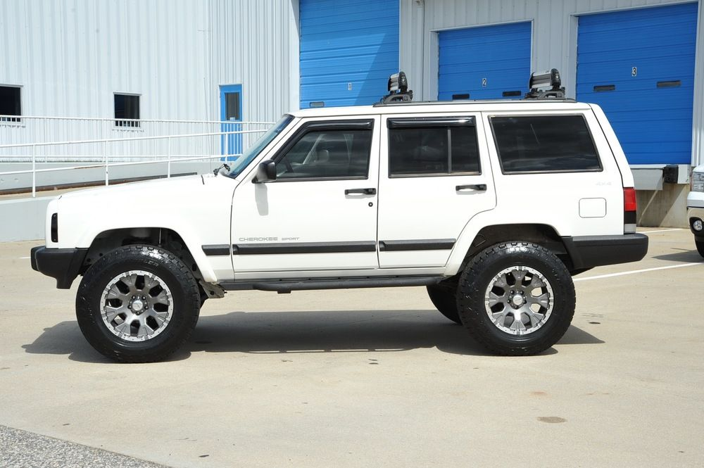 XJ_White_stg2_66k Jeep xj, Jeep cherokee sport, Jeep