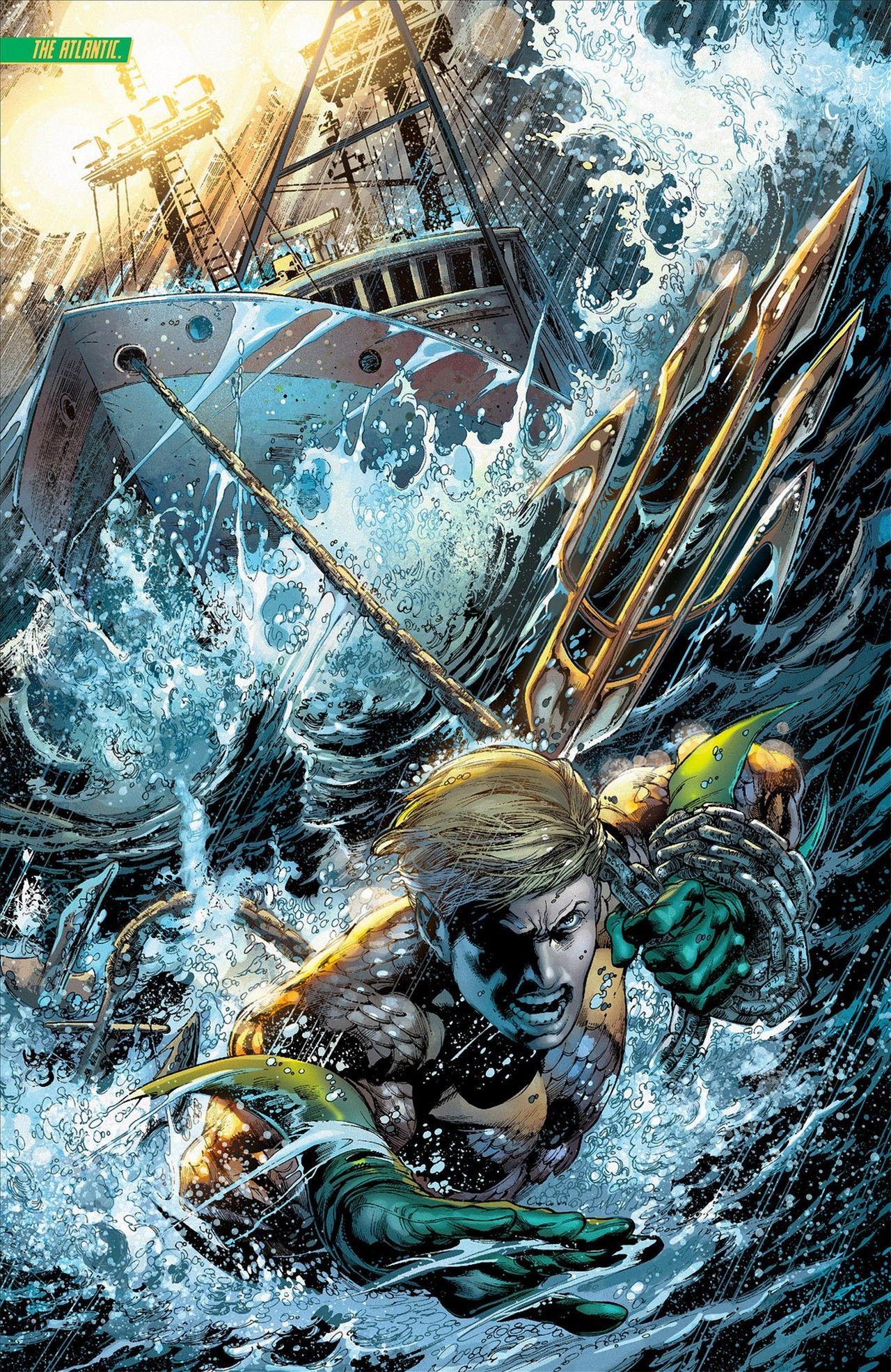 Amazing Aquaman artwork