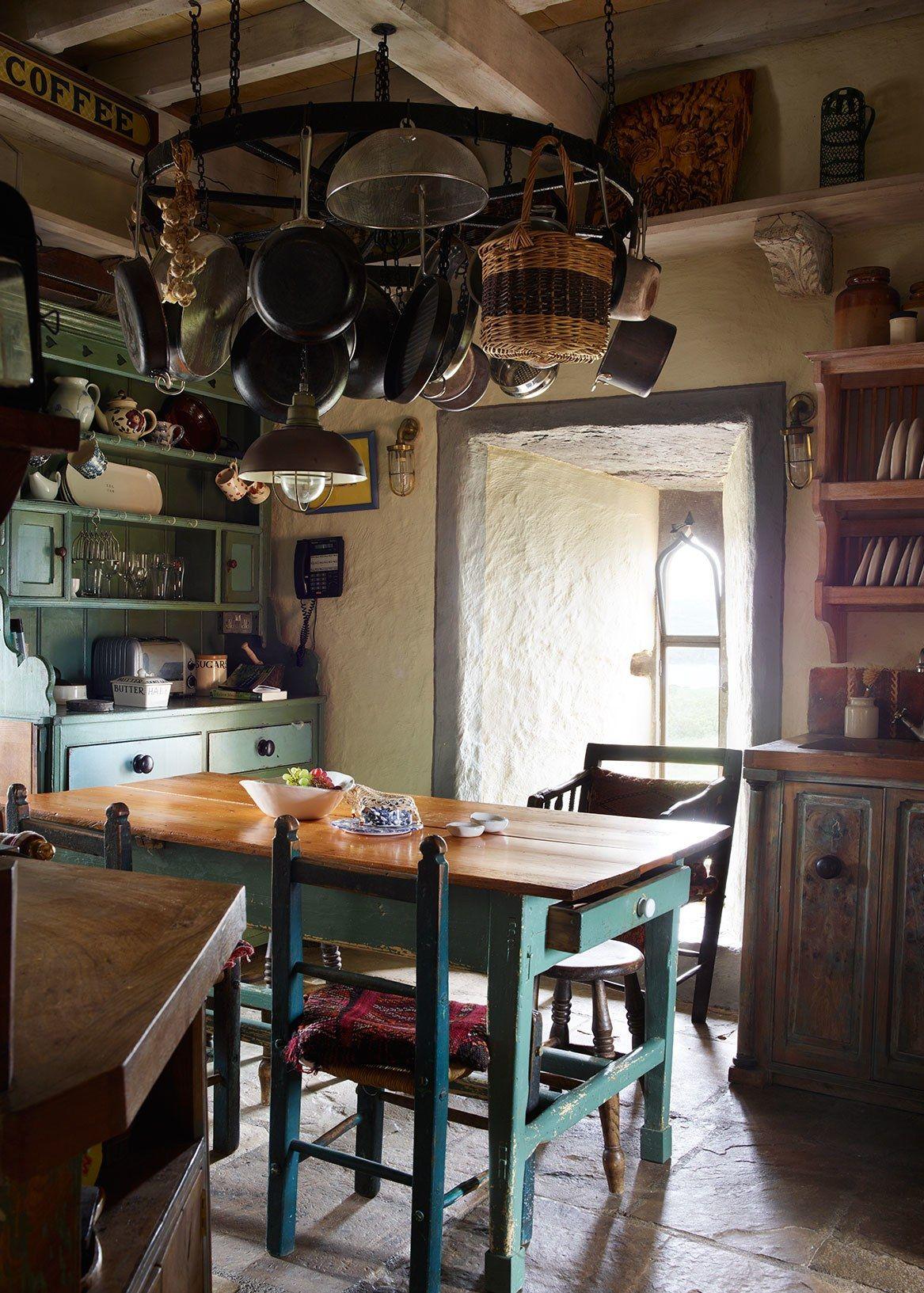 Photos: Kilcoe Castle, Jeremy Irons\'s Transformed Ruin | Kitchen ...