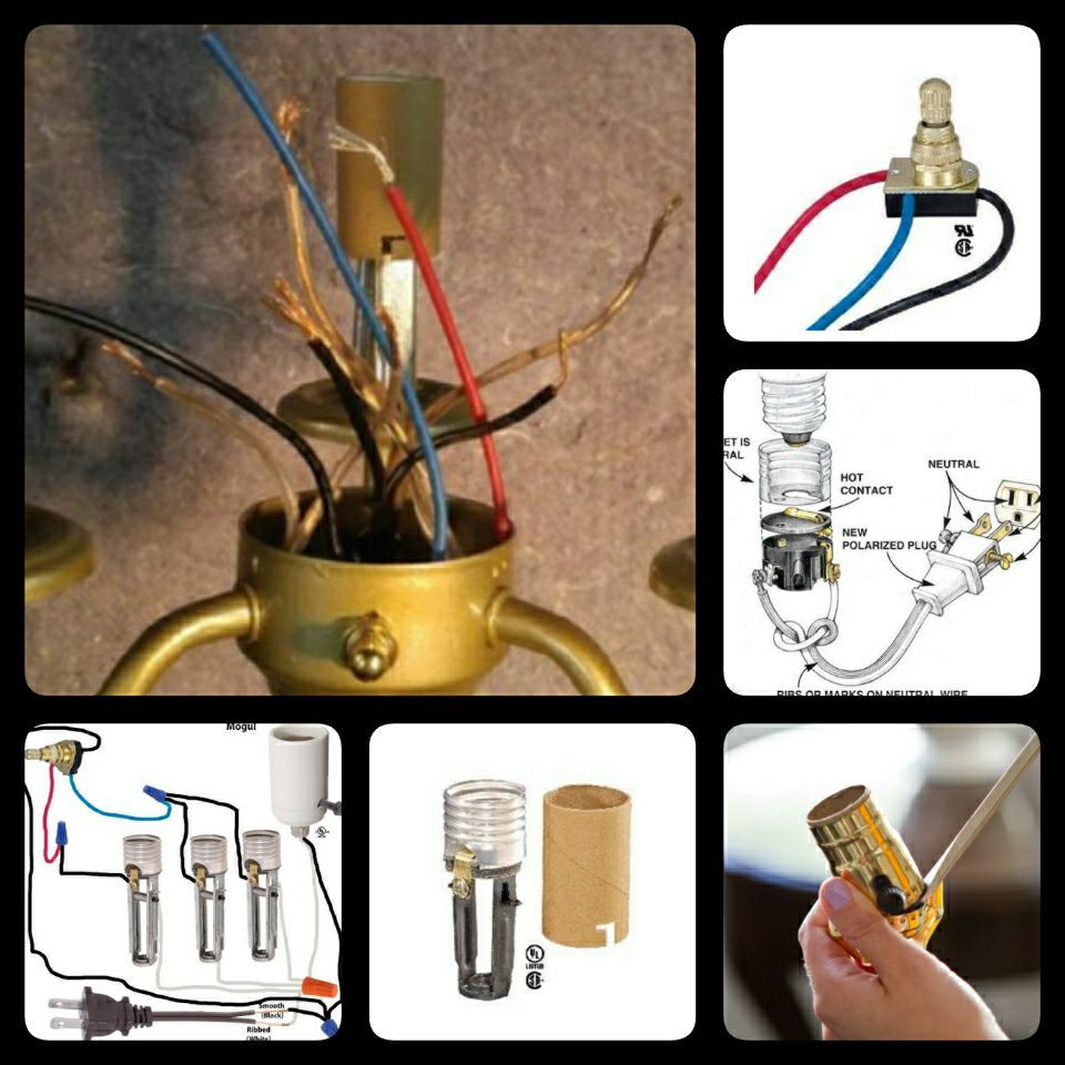Complete Lamp Rewiring Kits With Diagrams And Instructions Vintage Floor Lamp Diy Lamp Lamp Shade Finials