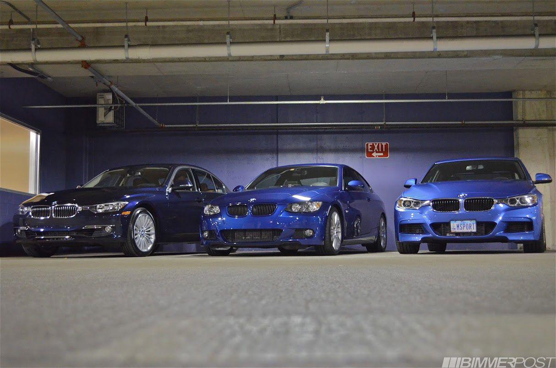 Trikrat Modra 328ix Luxury Line Imperial Blue Metallic 335i M