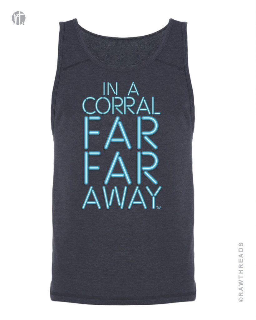 Corral Far Far Away Blue Blade Singlet