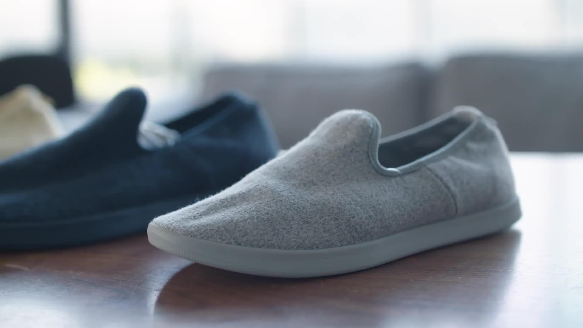 Wool sneakers
