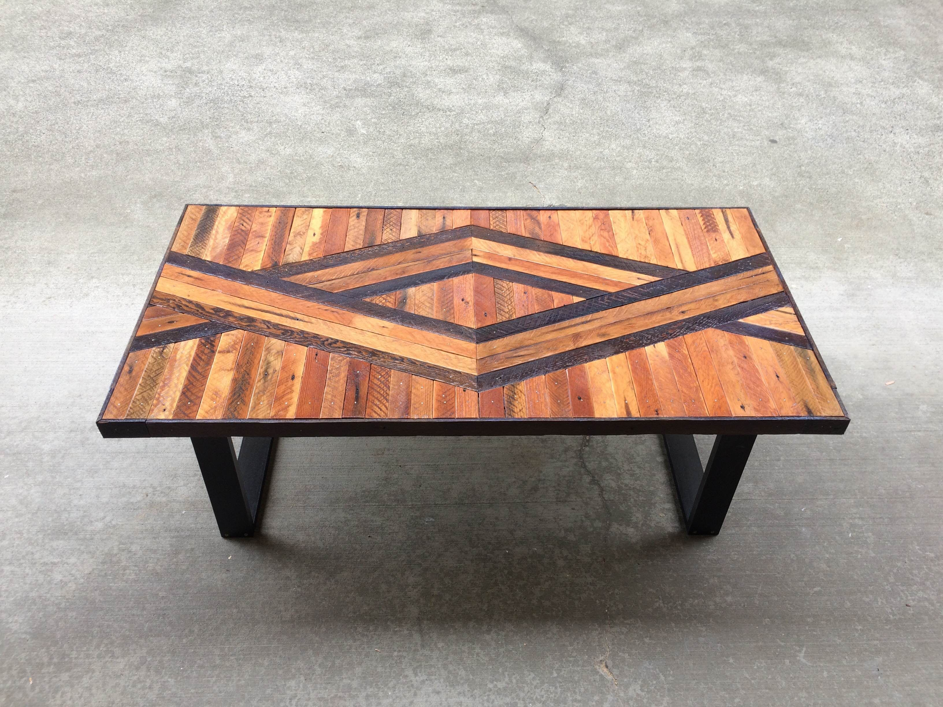 Mid Century Modern Coffee Table Painted