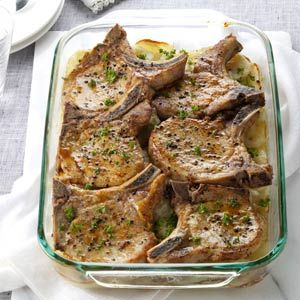 Pork chops with scalloped potatoes recipe pork chop pork and pork chops with scalloped potatoes ccuart Gallery