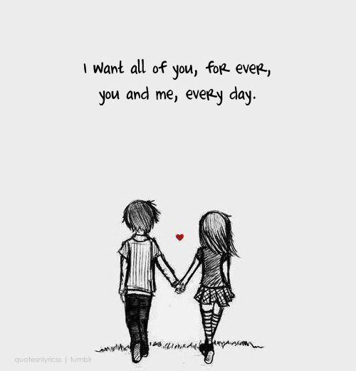 Love Quotes Cartoon Love Quote For Her Quote Sayings Pinterest