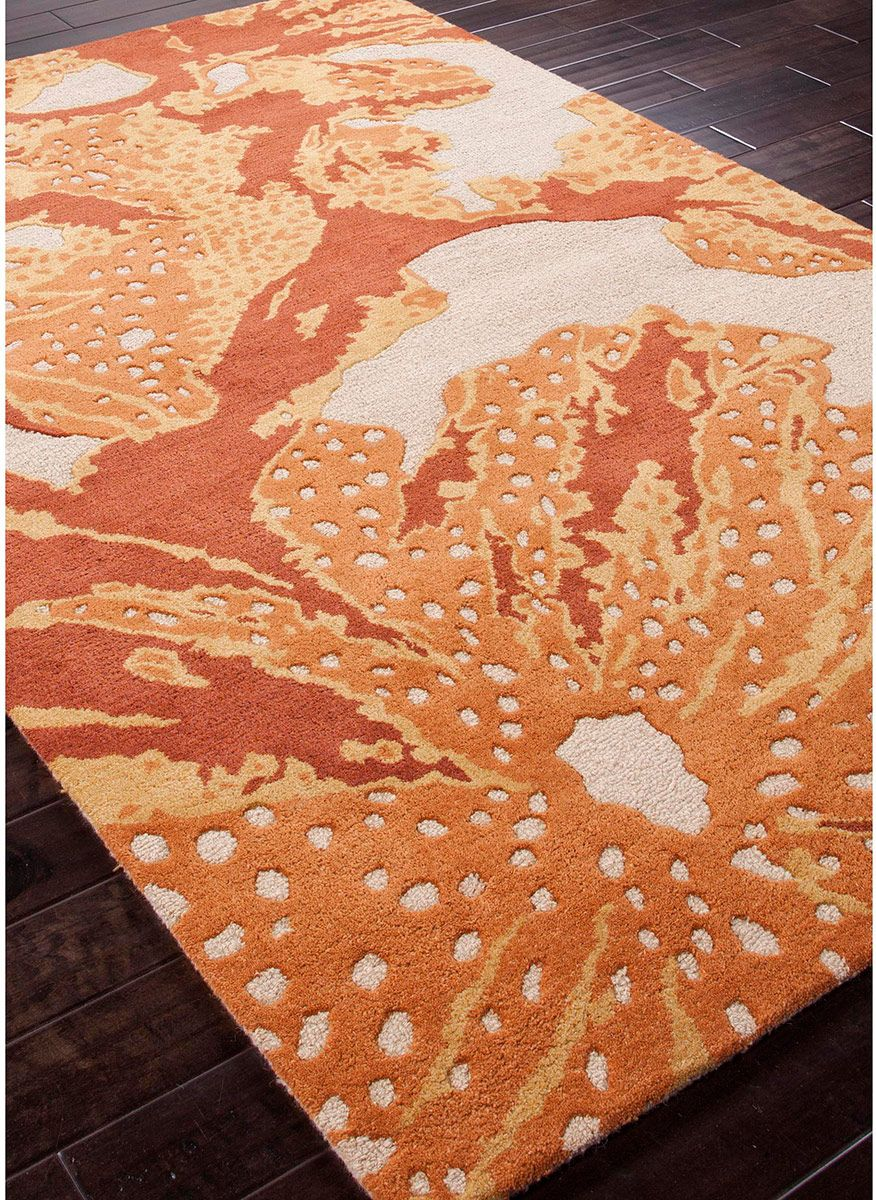 Modernrugs Orange Reef Coastal Modern Rug