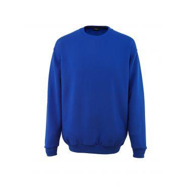 Sweatshirt en molleton gratté, 60% coton peigné et 40% polyester, 310 g/m²- Col rond - Bouts de manche, taille et col en maille côtelée (rib). - Coutures renforcées au niveau de la nuque.