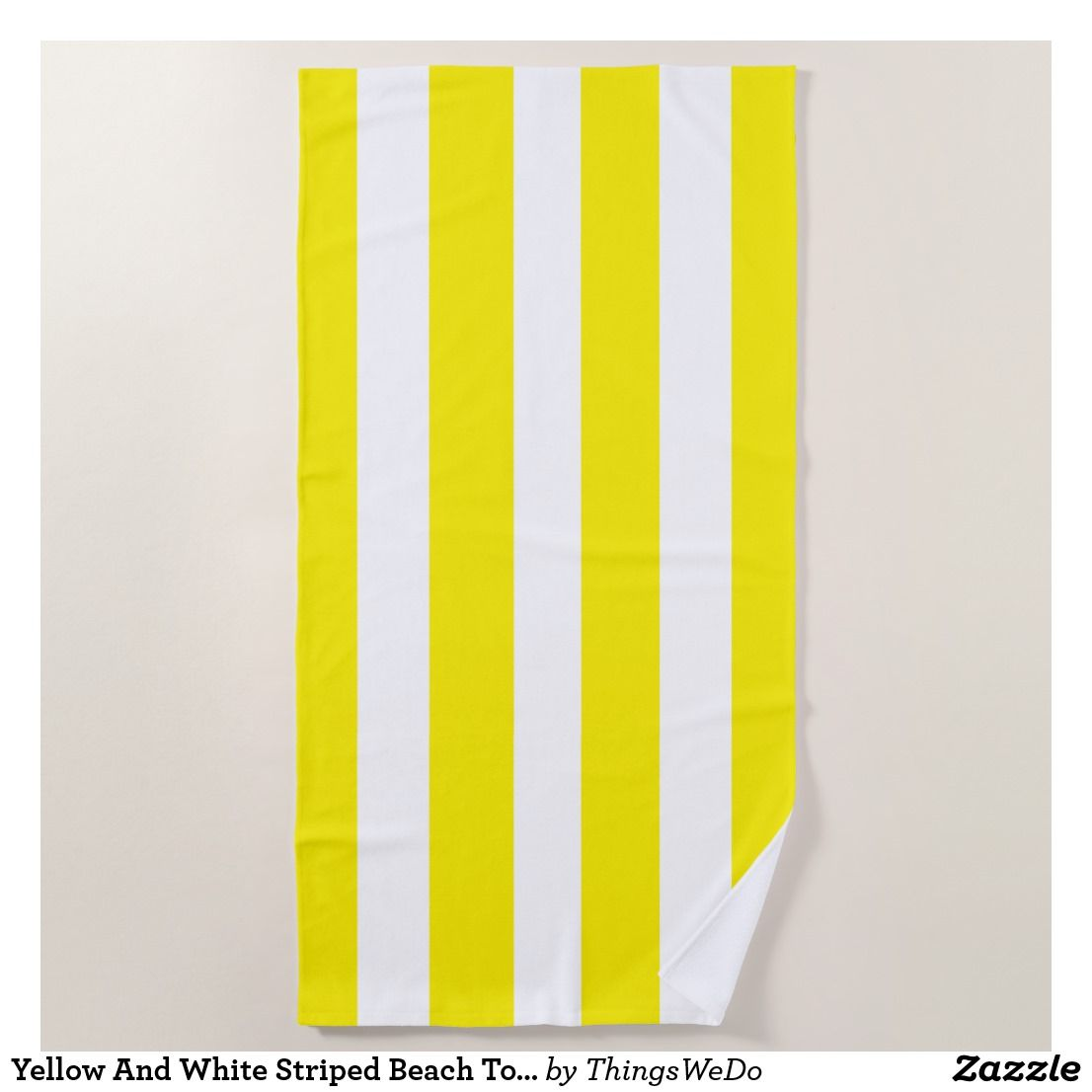 Yellow And White Striped Beach Towel Striped Beach Towel Yellow