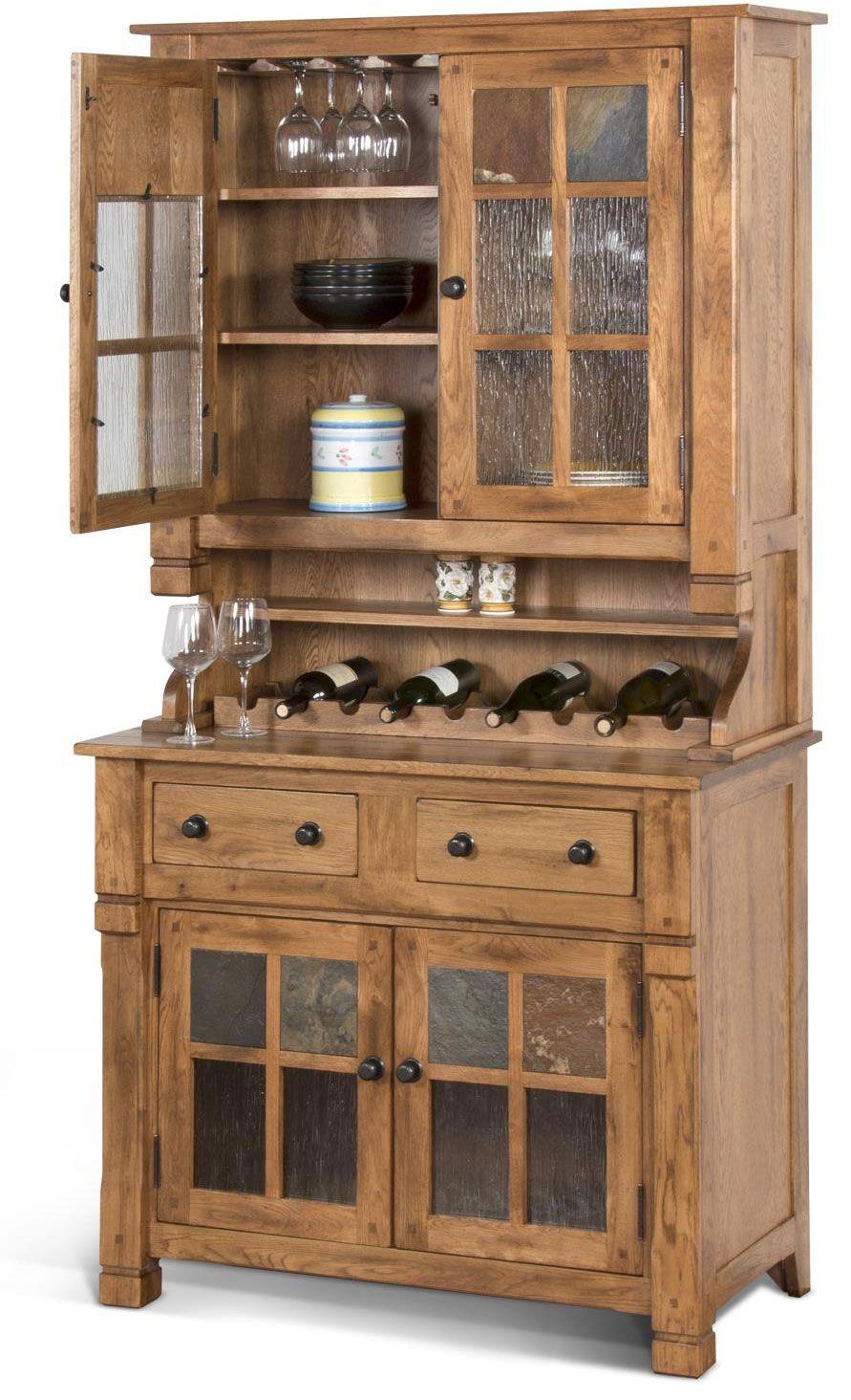 3 Door Hutches Dining Room Furniture Amish Oak In Texas Mission Furniture Mission Style Furniture Furniture